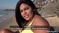 Public Agent A Blind date for Latina with huge ...