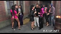 Crazy girls enjoy a night out they will at no time forget pornhub video