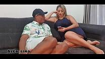Pego minha mulher   ,   Ines Ventura   ,    Vendo  vídeos  porno ,  E eu dei uma surra de piro na bucata dela