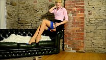 Leggy Jocelines  Officewear Strip ip