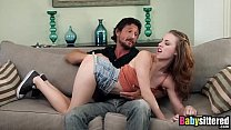 Sexy Teen Babysitter Anya Olsen Gets Banged Hard On Couch thumbnail