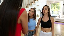 Step-Mom Mercedes Carrera and Jenna Sativa Lesbian Fun