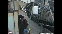 Spy Cam Catch Fucking on Roof Top thumbnail