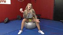 Mean Bitch in the Gym - Karma RX - Femdom