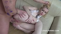 Mr. Anderson's Anal Casting with Clockwork Victoria Balls Deep Anal, Rough Sex, Gapes and Cum in the Mouth GL152 صورة