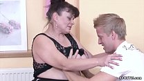 Young Boy Seduce His Grandma to get First Fuck thumbnail