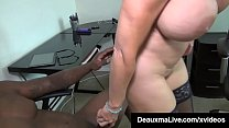 Cougar Deauxma Gets StrapOn Fucks Till She Squirts! thumbnail