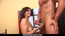 StepmomWithBoys - Lucky Stepson Fucks His Gorgeous Stepmom