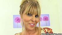 English milf Gabby will make you drool over her sweet fanny Image