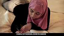 FamilyStrokes   Pakistani Wife Rides Cock In Hijab