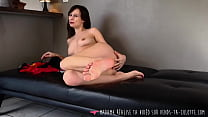 Vends-ta-culotte - French Foot Fetish Babe Masturbates Solo