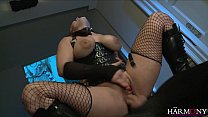 HarmonyVision Liza del Sierra takes a big cock in her ass thumbnail