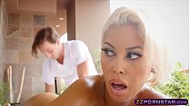Incredible MILF with big tits gets fucked by a ...