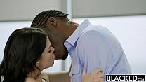 BLACKED British Wife Ava Dalush Loves Big Black Cock! preview image