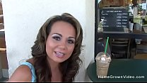Picked up fucked hot milf fucking big tits porn starbucks