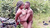 A motorcyclist fucked the village princess