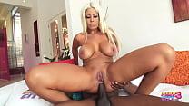 Latina Bombshell Slut Bridgette B Takes Huge Black Dick Up Her Ass