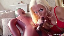 Male Sexdoll Fuck by Hot German Blonde Teen Tight Tini