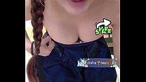 Bigo live Day 1 Thai Girl Nipple slip and Boob showing live