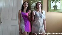 Caught jerking off by the hot girl next door JOI
