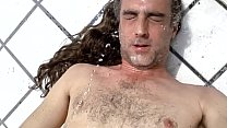 Slave Gaygory Golden Shower facial mouth hair wash hot wet urine outdoor whore video 7 Ama clea