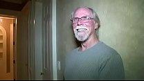 Old man gets surprise