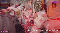 10885 Cum as a gift from Santa sucking cock AliceBong Purple Bitch Sia Siberia preview