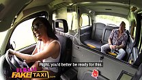 Female Fake Taxi Big tits Brit Ava Koxxx swallows cock & balls on backseat - 69VClub.Com