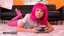 Amateur Boxxx - Gamer Girl Lulu Chu Orgasm By Step-Bro