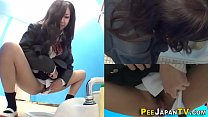 Real asian teen pissing thumbnail