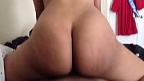 big booty ebony reverse cowgirl style