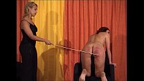 caning competition show • Sexy Milf Maid thumbnail