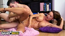 BANGBROS - Busty MILF Franceska Jaimes Gets Her Big Ass Covered In Syrup And Fucked
