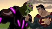 Superman Fucks Brainiac Ass To Skillet Hero