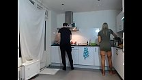 My Stepbrother and Me Cooking Dinner *** SiswetLive.com image