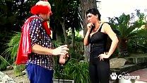 Spanish MILF Suhaila Hard Nailed By Clown Cock