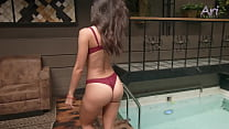 Ari's bikini exclusive 1
