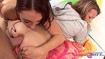 PervCity Teens Next Door Anal Threesome