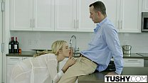 TUSHY Bosses Wife Karla Kush First Time Anal With the Office Assistant Preview