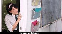 InnocentHigh - Cutie (Allora Ashlyn) Fucked Both Her Teachers