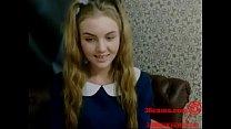 School Girl Spilling Love Juice