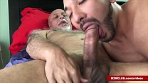 Daddy Emilius Barebacking His Young Lover