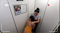 Martinasmith Stuck in the Elevator having Public Sex