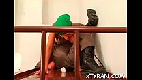 Slave gets gazoo whipped hard pornhub video