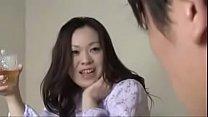 Japanese Mom with Son Drink And Fuck - evde kimse yok porno thumbnail