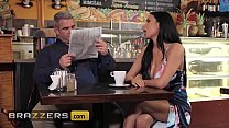 Horny Babe (Anissa Kate) Teases Her Husband At A Local Coffee Shop - Brazzers