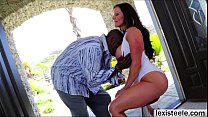 Dazzling milf Kendra gets ass fucked by Lexs substantial prick