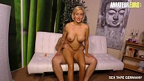 AMATEUR EURO   Big Tits MILF Wife Leni Gets Pou