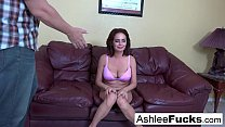 Ashlee orders some man meat after she dumps her boyfriend
