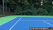 10563 Tiny Ebony Tennis Player Rough Missionary Sex After Lost Match , Msnovember Big Boobs Riding Stranger After Losing Bet On HD Sheisnovember preview